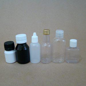Embalagens de frascos de 26 a 60ml