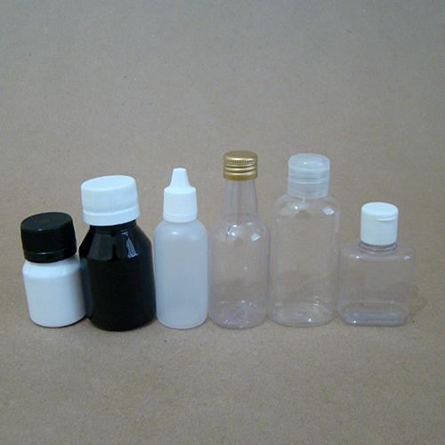 Frascos Plásticos de 26 a 60 ML