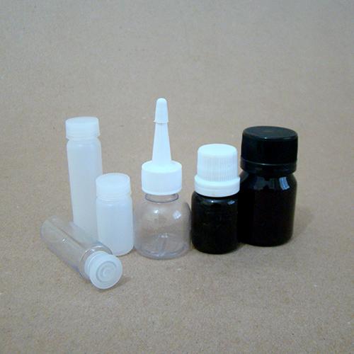 Frascos Plásticos de 5 a 25 ML