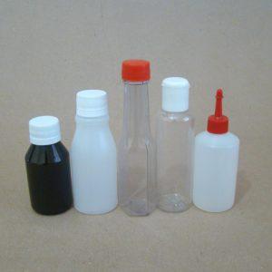 Embalagens de frascos de 61 a 160ml