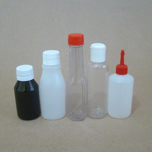 Frascos Plásticos de 61 a 160 ML