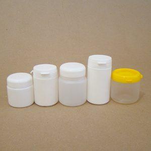 Embalagens potes de 61 a 120g