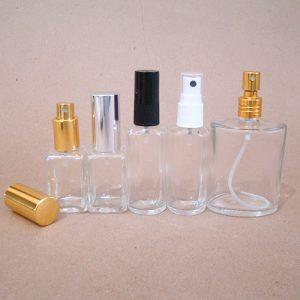 Embalagem, vidros para perfumes
